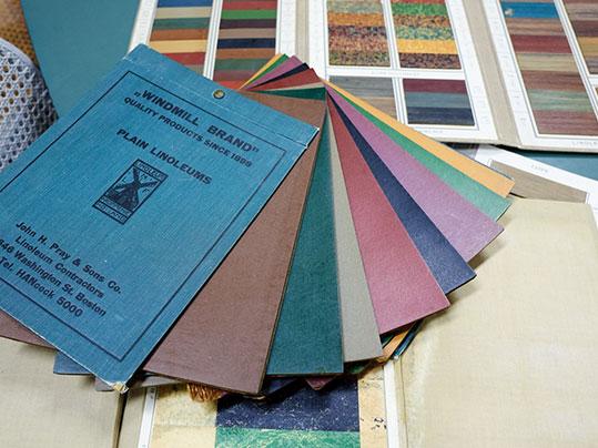 Assendelft Historische Musterbücher, Foto: Matthias Groppe, Paderborn