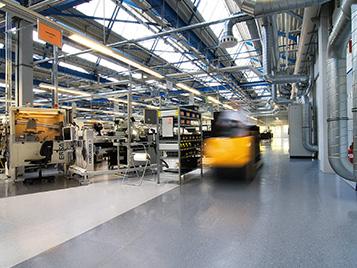 Industrie und Reinräume