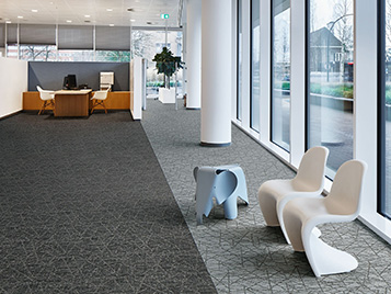 Offices and public buildings: Forbo carpet tiles