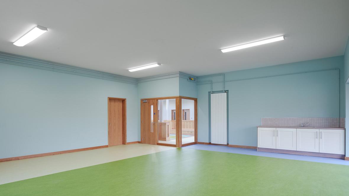 Scoil Chríost Rí Classroom