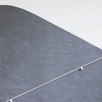 Marmoleum onto the wall