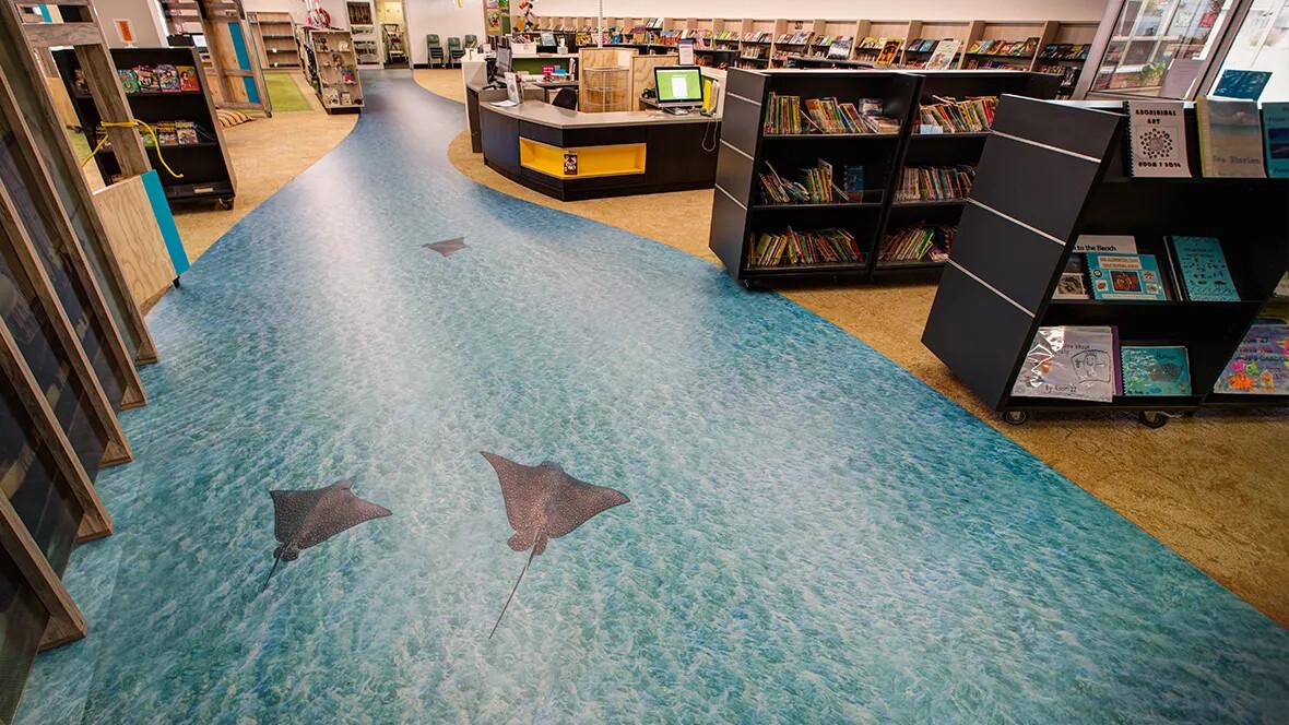 Glenelg Library - Eternal de impresión digital