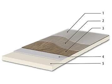Revêtement de sol LVT acoustique à poisser Allura decibel | Forbo Flooring Systems