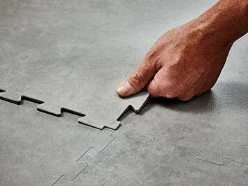 Revêtement de sol LVT Allura puzzle | Forbo Flooring Systems