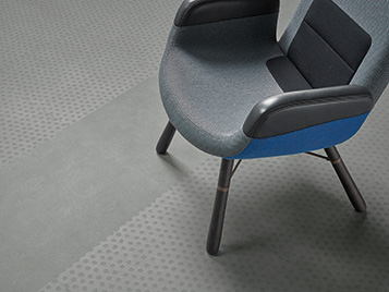 Allura 62522 natural concrete | 63434 cool concrete dots