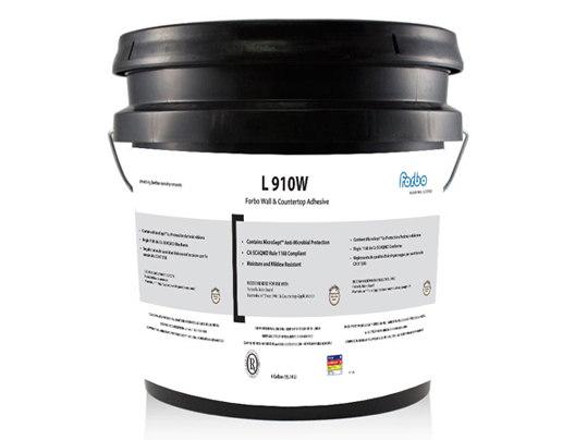 L 910W Adhesive 4-gallon