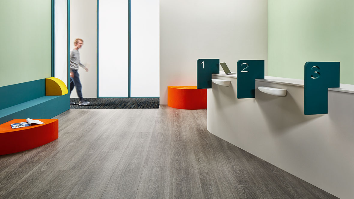 Allura 60280 grey giant oak | Coral 5767