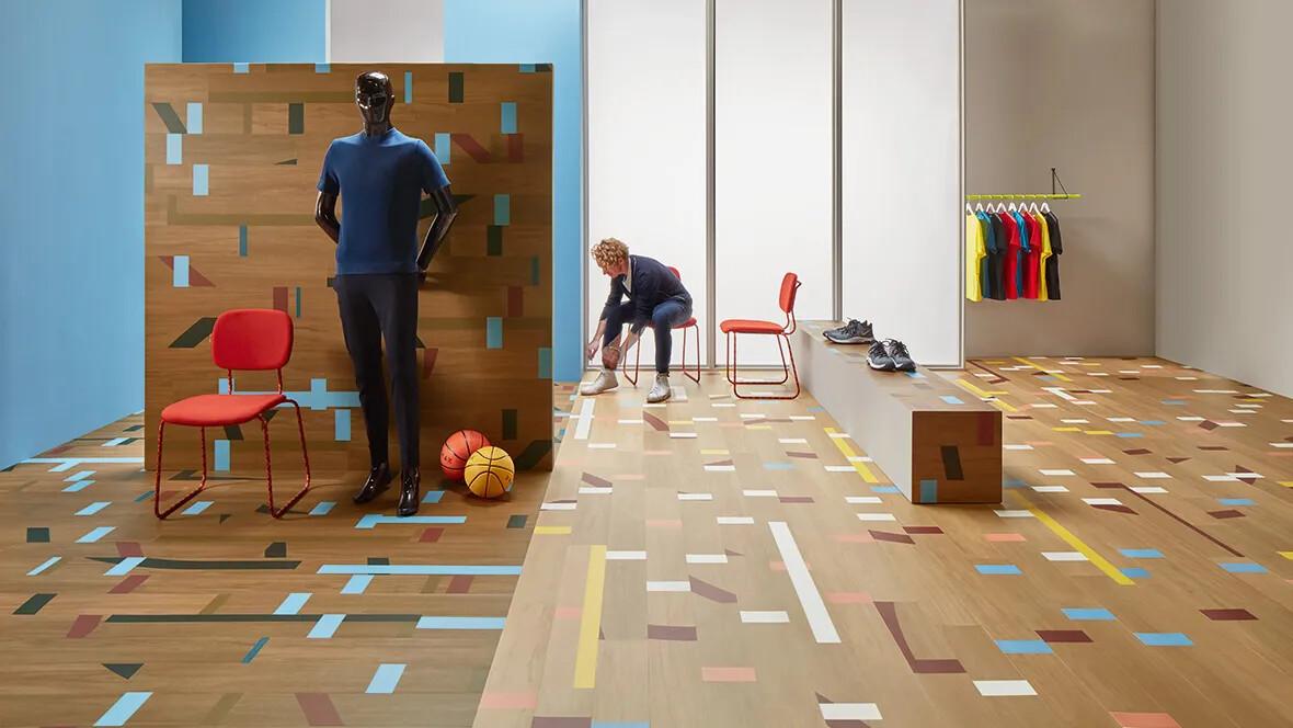 Allura floors at Euroshop 2020
