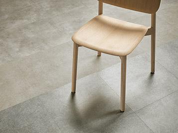 Allura Decibel 8SL04 silt slabstone | 8IM03 mortar imprint concrete | 8MIM02 smoke imprit concrete