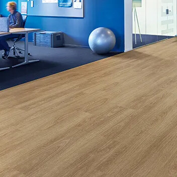 Allura 60284 natural giant oak | Tessera Arran 1502 danube
