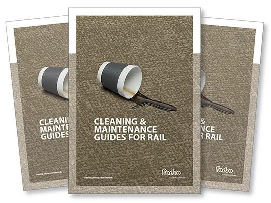 Omslagsbilde for brosjyre for renhold og vedlikehold