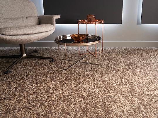 Forbo Tessera Earthscape carpet tiles in 3255 Desert