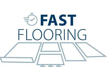Fast flooring logo