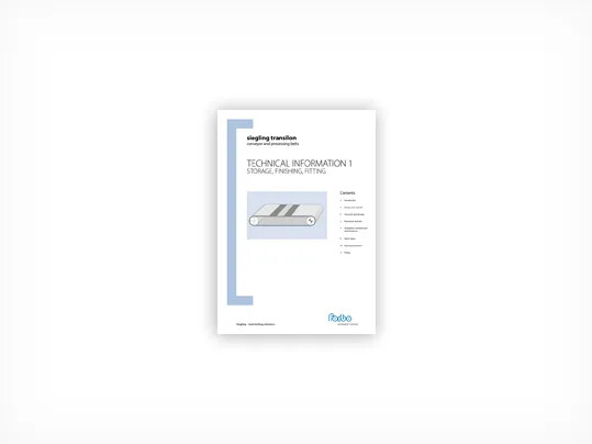 317 Technical information 1 storage, finishing, fitting