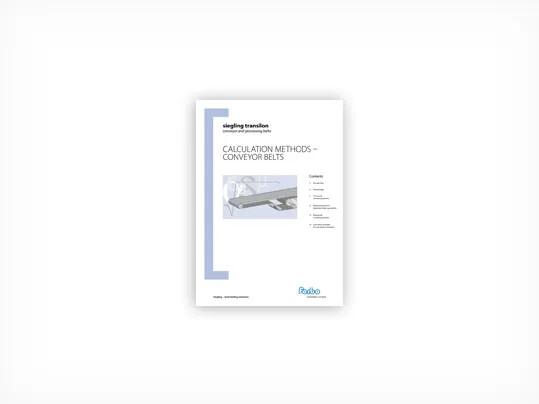 304Calculation methods – Conveyor belts