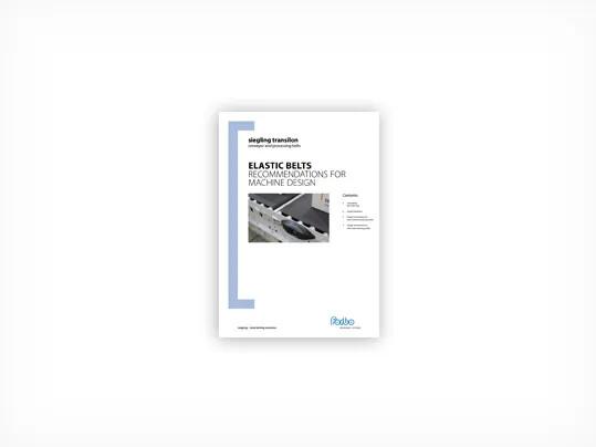 335 Elastic belts – Recommendations for machine design