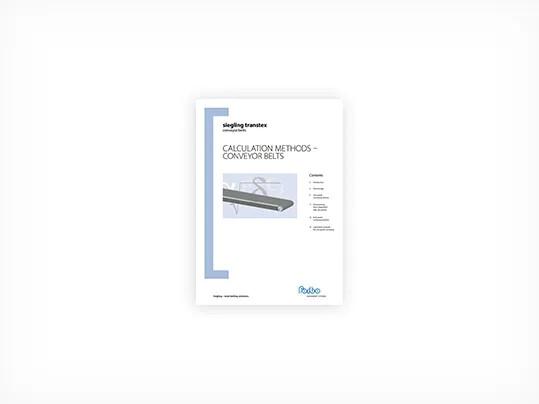 301 Calculation methods – Conveyor belts