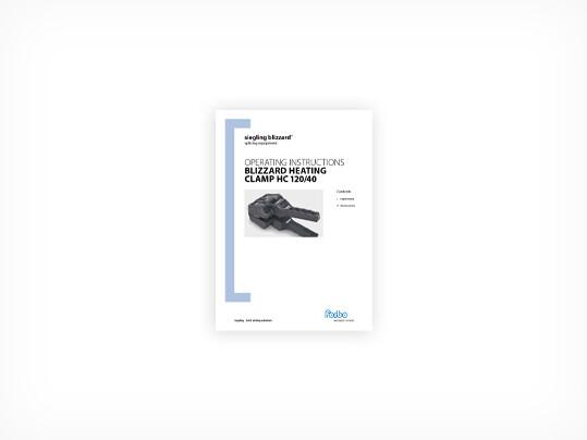 288 Siegling Blizzard HC 120/40 – User manual