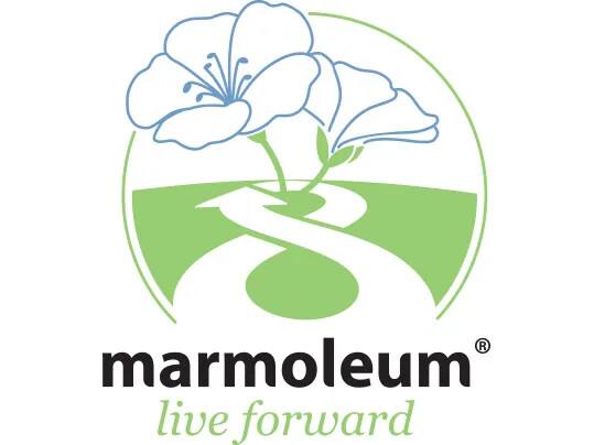 Marmoleum live forward logo