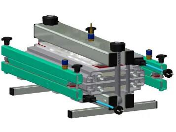 Heating press 180/500-P