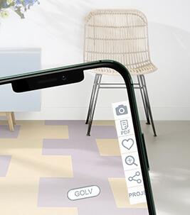 Forbo Floorplanner Consumer smartphone