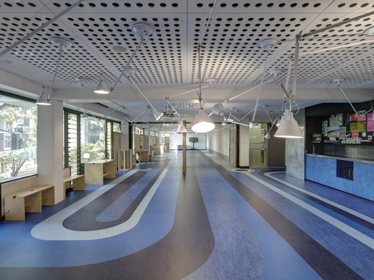 University QLD - Marmoleum