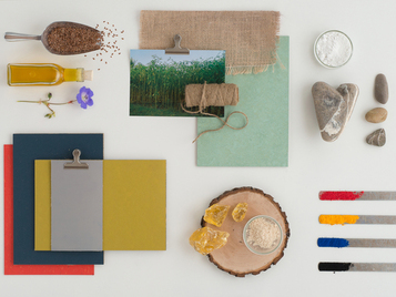 natural raw materials in Marmoleum
