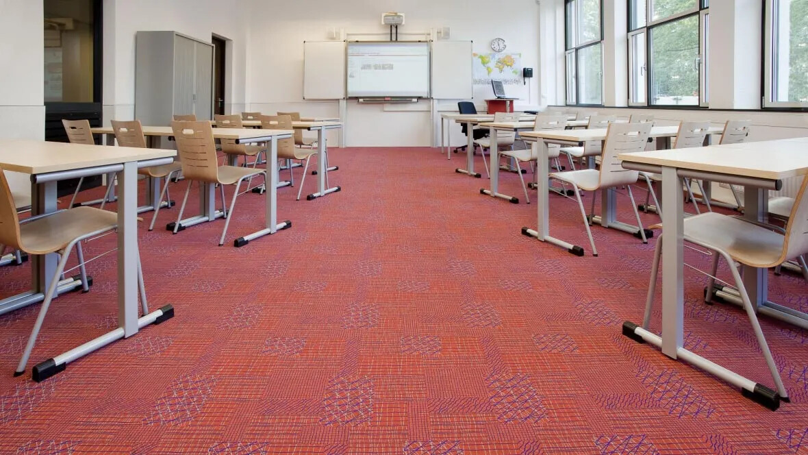 Flotex, classroom