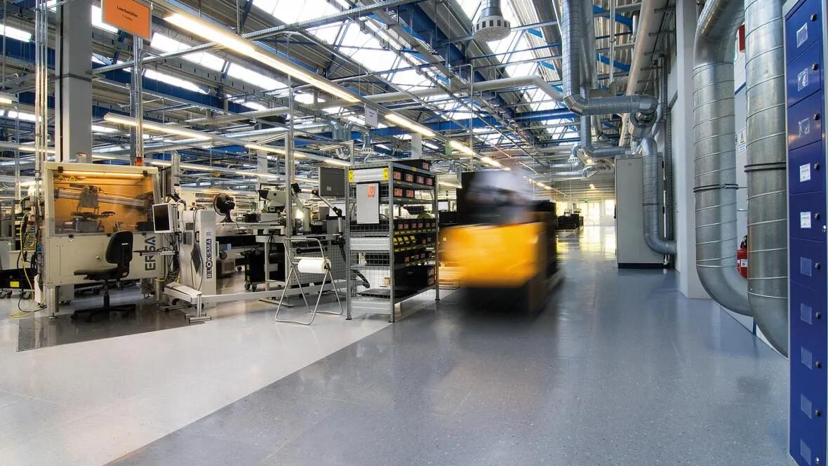 Colorex specialgolv inom tillverkningsindustrin