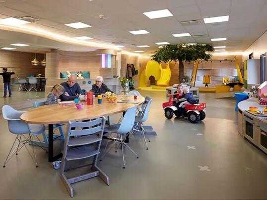 Pays-Bas… l'autre pays du linoleum dans les hôpitaux