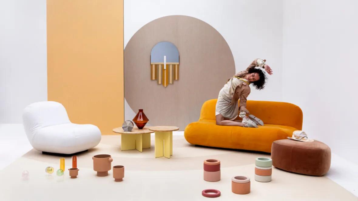 Overzichtsfoto trendblog 2020 met lichte kleuren Marmoleum Frescop de vloer