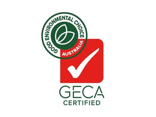 Australia GECA label for Marmoleum