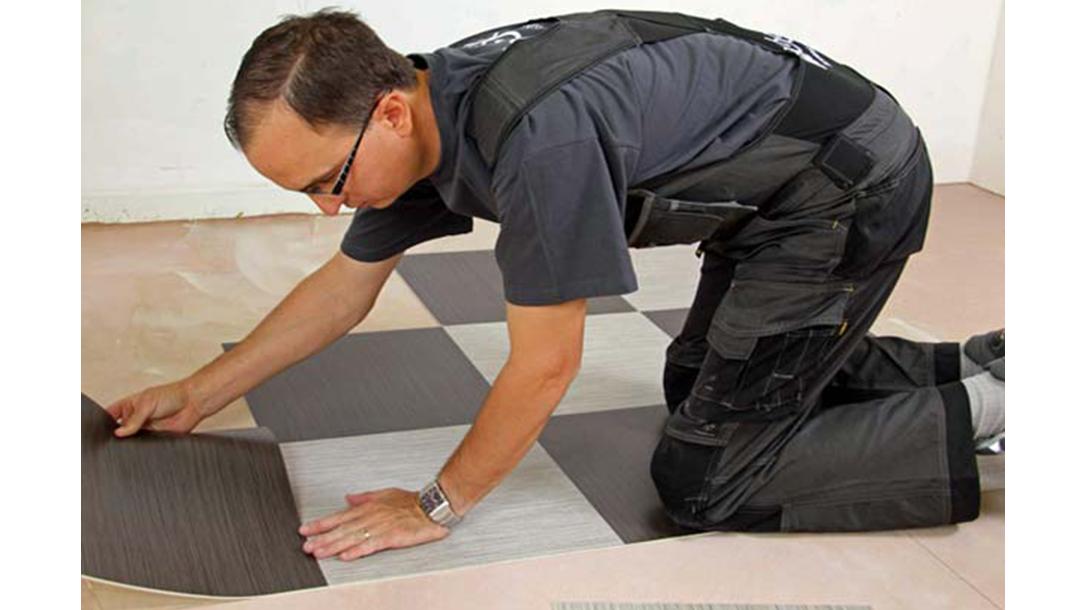 Revêtement de sol | Pose de dalles PVC | Forbo Flooring Systems