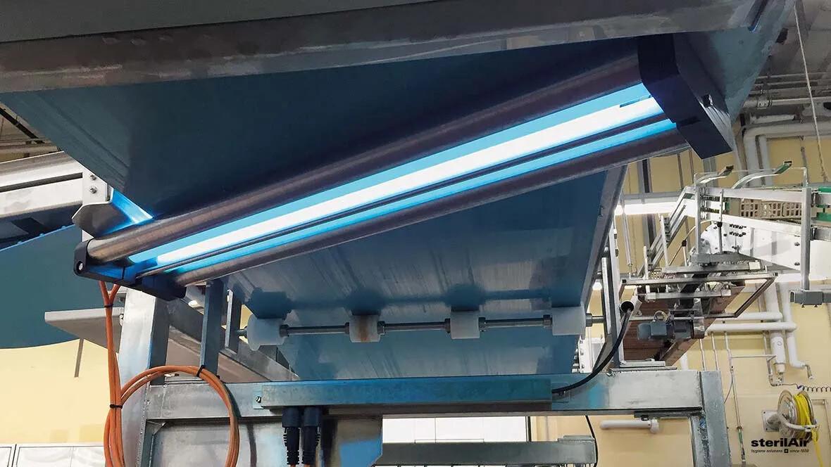 UV-C resistente Bänder