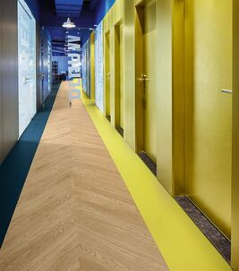Revêtement de sol et distanciation sociale Covid-19 | Forbo Flooring Systems