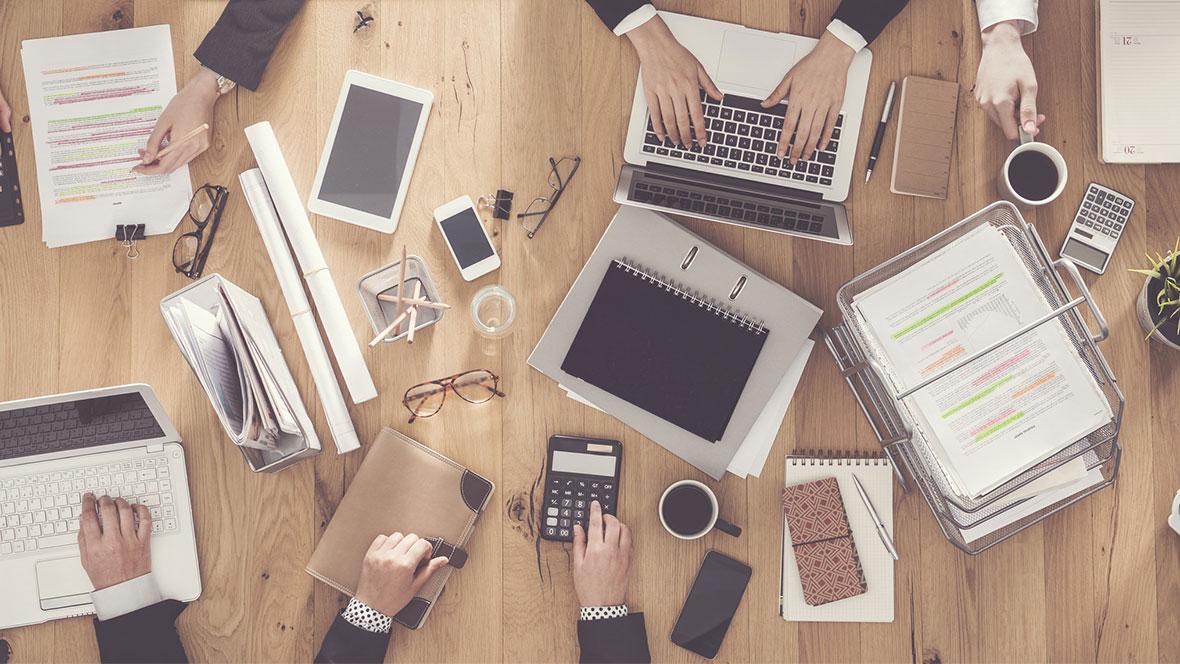 Planen und beraten - im Büro oder digital.