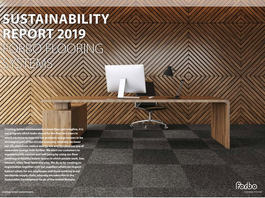Forbo Sustainability report 2019