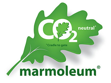 Marmoleum - CO2-neutral - Logo