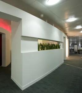 Golvlösningar för kontor och gemensamma utrymmen inom industrin