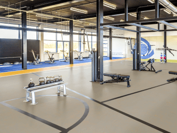 Wykładziny Linoleum sport wykładziny podłogowe w obiektach sportowych