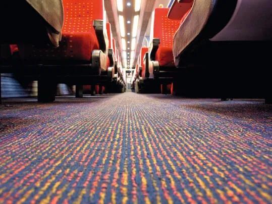 Revêtement de sol textile Tessera pour transport ferroviaire | Forbo Flooring Systems
