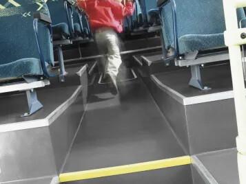 Flooring in transport