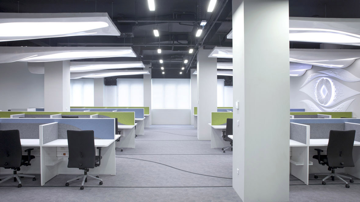 Cosmote call center grey Flotex Calgary | Forbo Flooring Systems