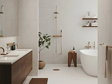 TermaLife Quarz & TermaStar Show Nordic Spirit Forbo Wetroom Collection