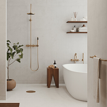 Nordic Spirit TermaLife Quarz & TermaStar Show Forbo Wetroom Collection
