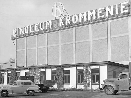1953 Linoleum Krommenie, Photo Jan Versnel