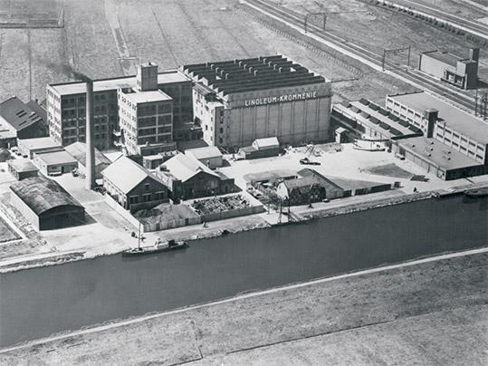 1953 Linoleum Krommenie