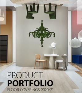 Wykladziny Forbo portfolio 2020