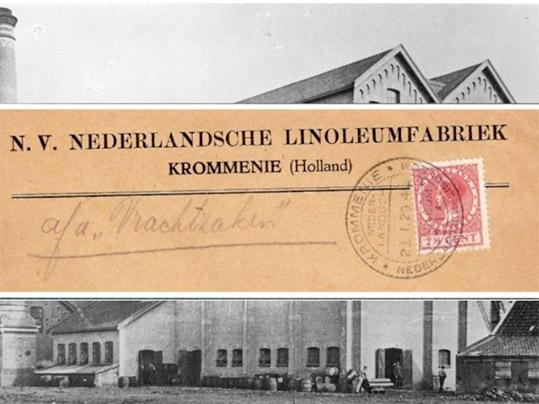 Nederlandsche Linoleum Factory Krommenie