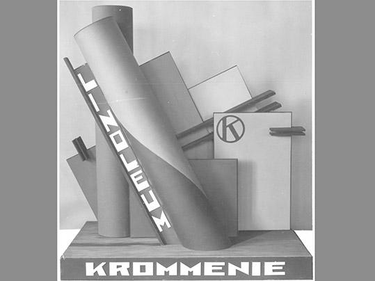 Linoleum Krommenie Advertising round 1933